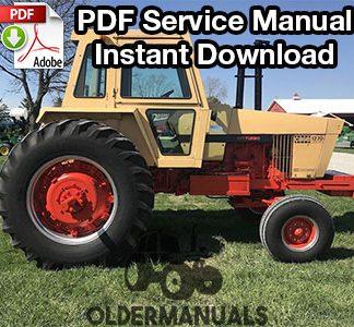 Case 1270, 1370, 1570 Tractor Service Manual PDF Download