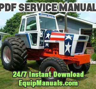 Case 1570 Spirit of '76 Tractor Service Manual