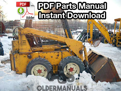 Case 1737, 1737S, 1740 Skid Steer Parts Manual