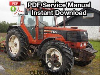 Fiat F100, F110, F120, F130 Turbo Tractor Service Manual