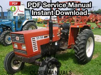 Fiat 35-66, 35-66 DT Tractor Service Manual (French)