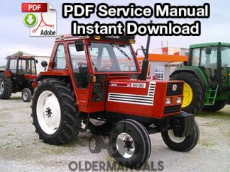 Fiat Series 90 Tractor Cab Service Manual