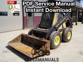New Holland L781, L784, L785 Skid Steer Loader Service Manual