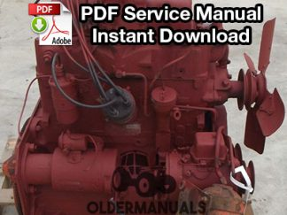 Chrysler H105 Engine Service Manual For 4140, 12C Skid Steer Loader