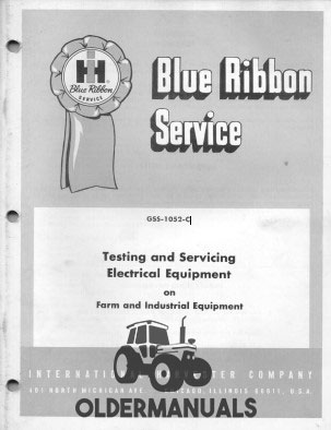 International Electrical System Testing and Servicing Manual