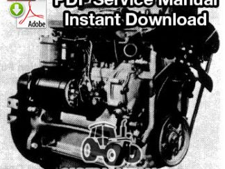 Ford BSD, BSG Gas/Diesel Engine Service Manual